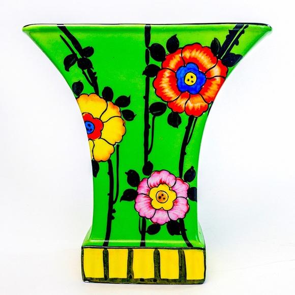 Vintage 1930's/40's Trico Nagoya Vase